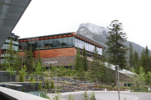 One of the dining facilities at Banff Centre.