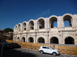 The Roman arena at Arles.